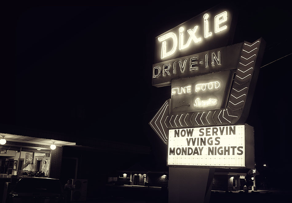 Dixie Drive-In Greenwood South Carolina Jessica Anderson